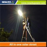 Luz de calle solar integrada del sensor de movimiento con 5 años de garantía