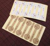 Etiquetas de empacotamento do papel de embalagem de Brown (ST-006)
