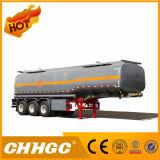 De la venta caliente de la gasolina de Disel del petrolero del tanque acoplado de gasolina y aceite semi