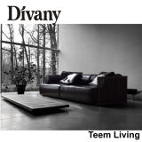High Quality Leather D-36를 가진 Divany Sectional Sofa