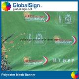 Signe de l'événement de bannières de publicité de bannière de maille polyester imprimé par sublimation
