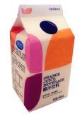 3-couche 468ml Carton gable top Pour le jus d'Orange