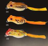 新しいデザインテールカエル釣カエルの柔らかいカエル