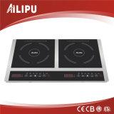 2014 Aparato de cocina portátil 2 de cocción Quemador 3600W Schott Ceran Electric Glass Inducción