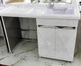 2015 moderno mobiliário de Aço Inoxidável Varanda Armário de lavar roupa (J-8742)