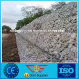 Heiße eingetauchte galvanisierte Gabion Maschendraht-Felsen-Stützmauer