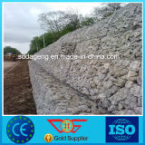 Muro di sostegno galvanizzato tuffato caldo della roccia della rete metallica di Gabion
