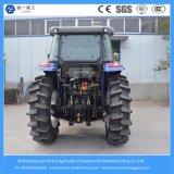 grande agricolo di 125HP 4WD/azienda agricola/mini/trattore compatto con lo stato dell'aria e della baracca
