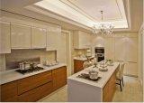 高品質によってカスタマイズされるラッカー木製の食器棚Yb1707013