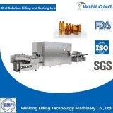 Linea di produzione di secchezza di riempimento di lavaggio di sigillamento della soluzione orale liquida orale