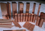Copper luminoso Tungsten Alloy Round Bar per Switch Contact