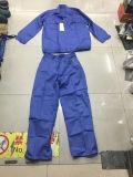 Tuta blu di sicurezza di colore di vendita calda per gli operai proteggenti