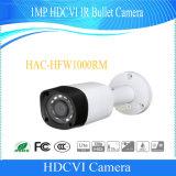 Cámara al aire libre del punto negro de Dahua 1MP Hdcvi IR (HAC-HFW1000RM)