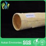 De alta temperatura de fibra de vidrio compuesto PTFE no tejidos Colector de polvo Filtro Bolsas