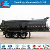 Remolque anti-corrosio de acero del carro, anti-ácido, semi remolque pesado de camiones volquete,