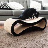 Interactieve Stuk speelgoed van het Karton van het Katje van de Raad van de Kat van Scratcher van het Document van het huisdier het Kat Golf Krassende
