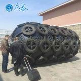 Diámetro los 2m con la defensa de goma del infante de marina de la longitud los 3.5m con Chians y la red de los neumáticos