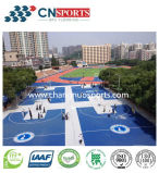 Pavimentos deportivos de caucho de Futsal, baloncesto, voleibol, balonmano, el Tribunal Badmitton piso