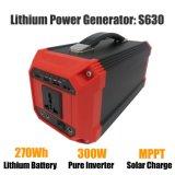 Generatore portatile 300W 110V/220V/230V/240V dell'invertitore del blocco alimentatore