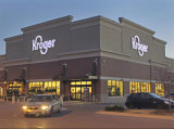 Полуфабрикат здание супермаркета стальной структуры (KXD-pH34)