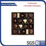 주문을 받아서 만들어진 정연한 초콜렛 포장 쟁반