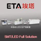 Linea di produzione chiara ad alta velocità di fabbricazione LED, linee di produzione semiautomatiche di SMT