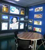 Pagina di esposizioni della finestra Display Frame Acrilico LED Poster