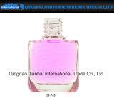 цветастая квадратная бутылка маникюра стеклоизделия формы 15ml