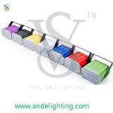 디스코와 무대 효과를 위한 LED 스트로브 빛