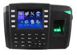 Biometrische Fingerabdruck-Zeit-Anwesenheit mit eingebauter Li-Batterie (TFT600)