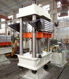 Placa de Tipo da estrutura vulcanização, Máquina de vulcanização da borracha de imprensa