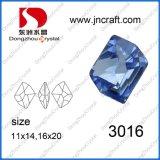 Helle Saphir-empfindliche Schnitt-Kristallelement-Fabrik-Großverkauf