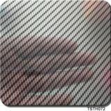 Haute qualité Tsautop 0,5 m/1m de largeur d'impression Transfert d'eau en fibre de carbone Films Film hydrographique Aqua Tstr9004 d'impression