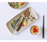 艶出しのフィレンツェの高塗られた多層相対的なディナー・ウェア