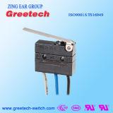 Micro- van Hotselling Elektrische Schakelaar met IP67 Types van de Trekker van het Sap