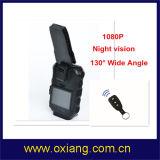 Câmera externa desgastada corpo da sustentação da câmera da polícia da visão noturna 1080P mini
