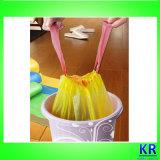 Sachets en plastique avec Drawtaoe, sacs d'ordures