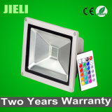 Venda quente impermeável IP65 50W RGB LED Flood Lamp Iluminação exterior
