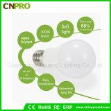Bulbo de iluminação Home A19 do diodo emissor de luz da luz macia 120V E27 9W do diodo emissor de luz Dimmable para nós