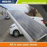 60W Todos en un solar de la calle Luz con sensor