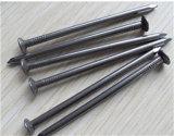 De vlotte Heldere Steel beëindigt Spijkers