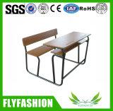 Mesa e cadeira dobro, mesa do estudante e cadeira