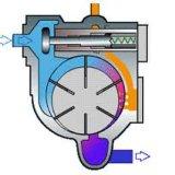 Pompe de vide pour la machine de moulage par injection