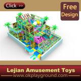 SGS thème coloré en plastique du château de terrain de jeux intérieur (T1277-11)