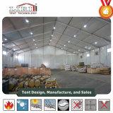 Tienda resistente de aluminio grande del almacenaje del almacén con la persiana enrrollable