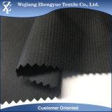 Качество 75D 100% полиэстер памяти катионов оснований Клетчатую Shell куртка ткань