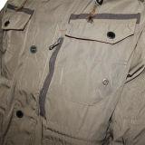 Вскользь Relaxed хлопок пригонки/поли куртка клобука & люди Outcoat