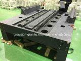 Partie supérieure du comptoir de granit de haute précision pour la machine
