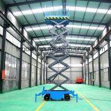 Ascensor hidráulico móvil trabajos aéreos