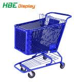 Carrinho de Compras de supermercado de plástico completo